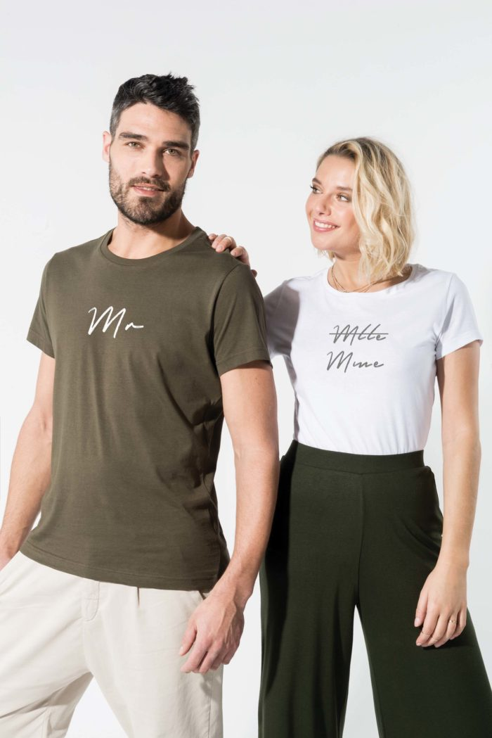 T shirt bio imprimé