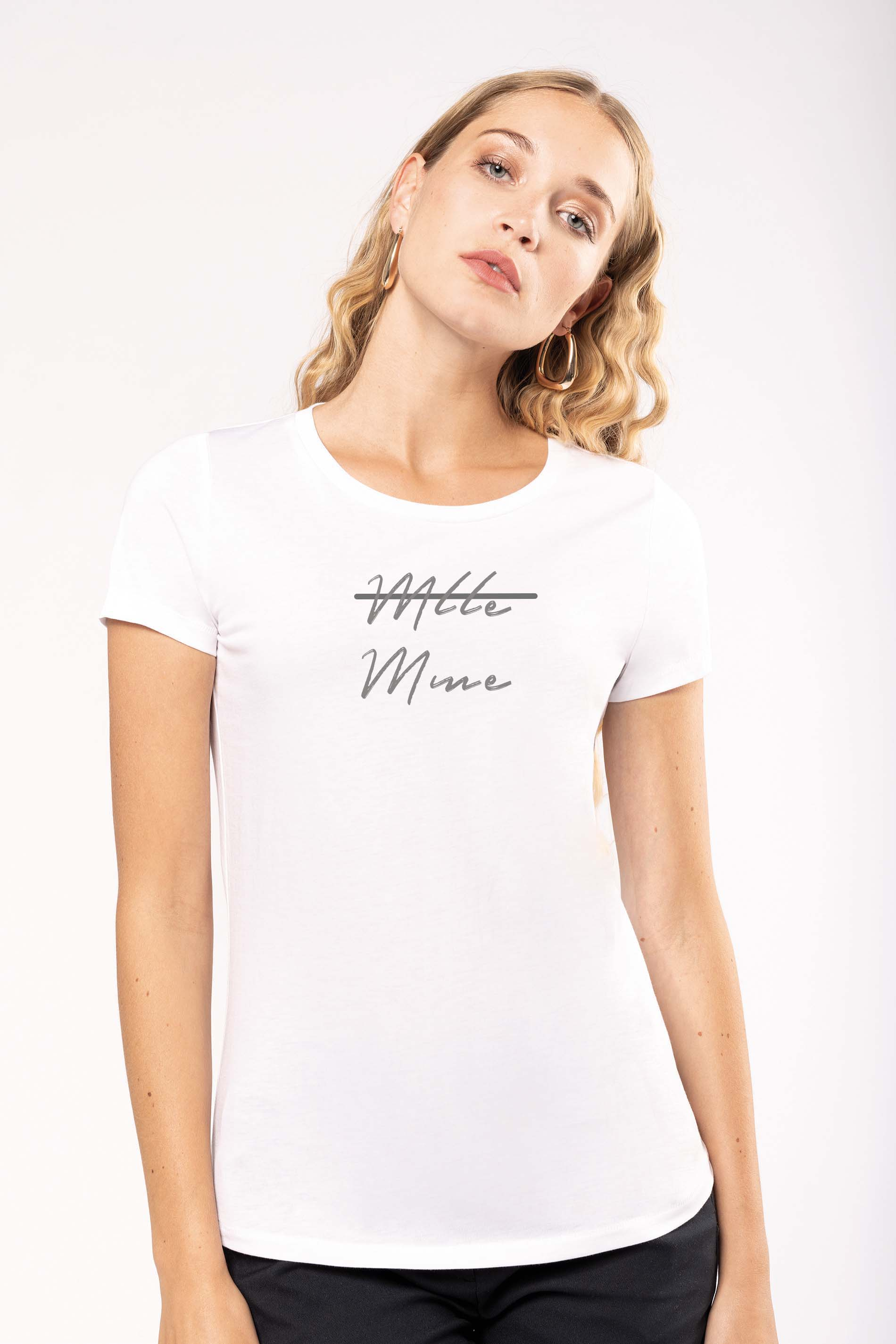 T shirt Bio Mlle