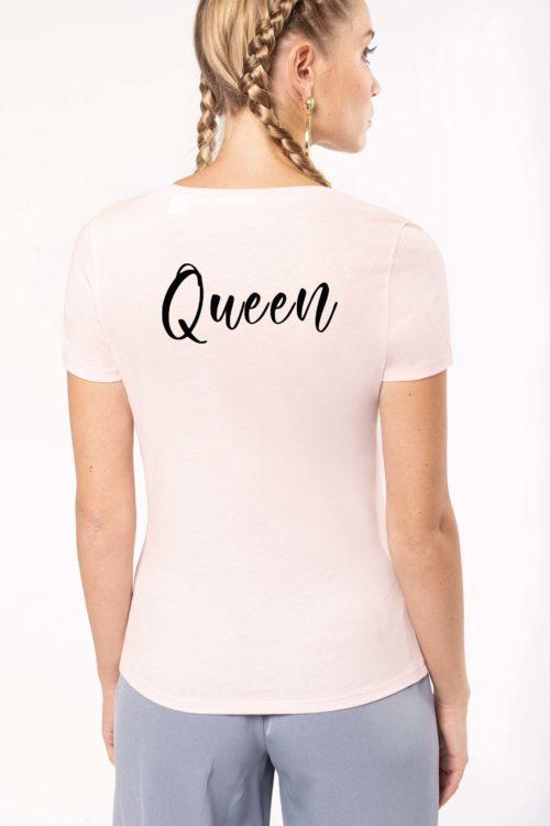 T-shirt Queen personnalisé