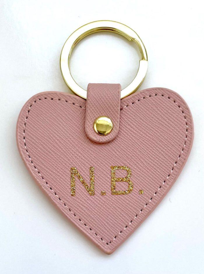 porte-clés personnalisée coeur