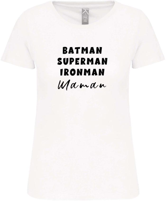 T shirt superhéro
