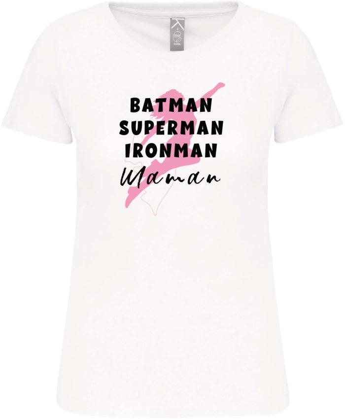 t shirt super hero silhouette